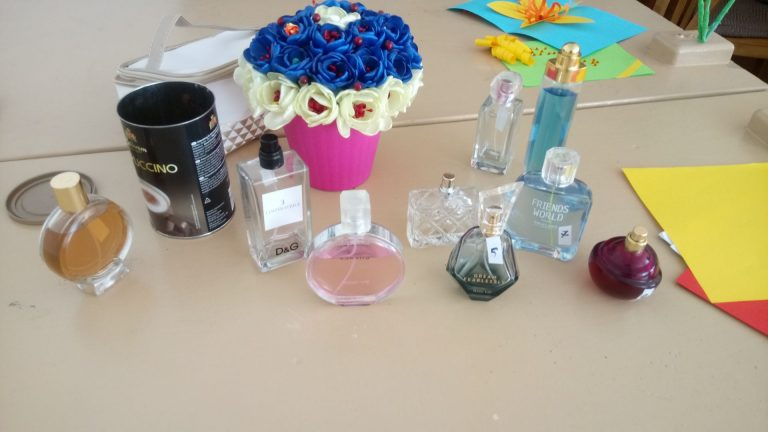 Perfumes for testing
